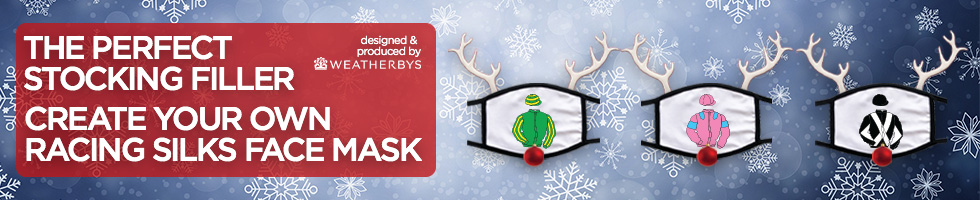 The Perfect Stocking Filler - Weatherbys Racing Silks Face Masks